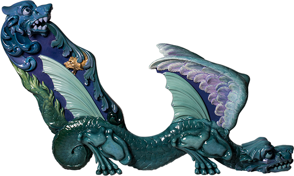 Blue Dragon - Outside Chariot Image