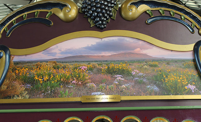 Rounding Board Section 18 - Flowers & Rattlesnake Image